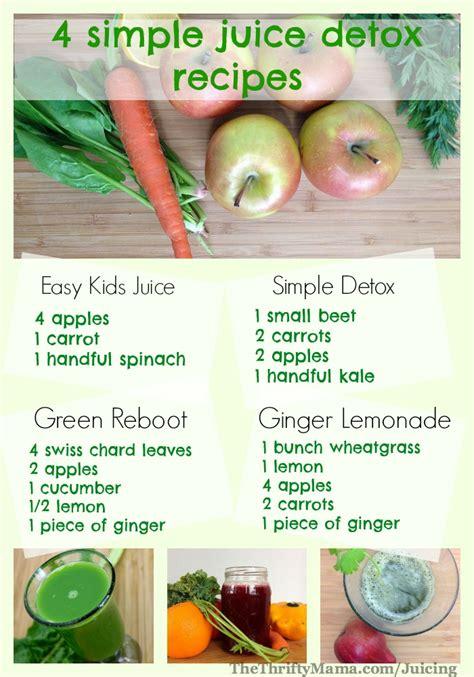 recipes healthy juicer juice detox simple comes