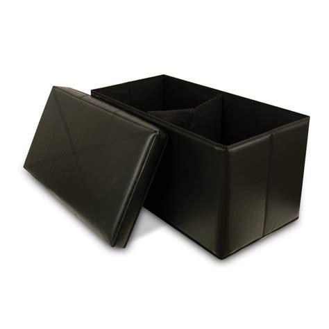 black leather storage ottoman 5 best black leather ottoman elegant enough to make your