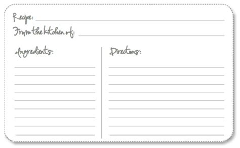 free editable recipe card templates for microsoft word free printable recipe cards your way