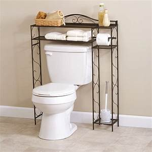 Over, The, Toilet, Space, Saver, Storage, Rack, With, 4, Shelves