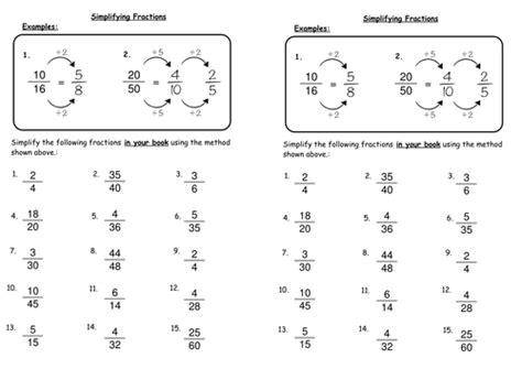 Year 7 Maths Fractions Printable Worksheets Homeshealthinfo