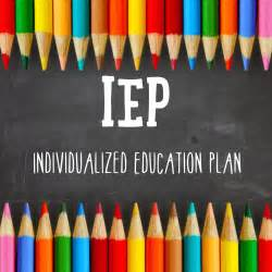 Special Education IEP Goals