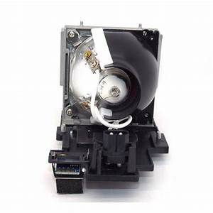 Dell 4610x replacement lamp with housing for Lamp light on dell projector