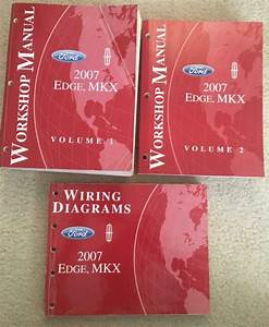 2007 Ford Edge Mkx Workshop Manual  U0026 Wiring Diagrams Oem