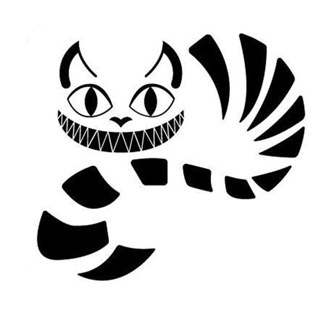 Cheshire Cat Clipart Car Sticker  Pencil And In Color