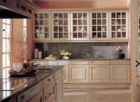 muebles de cocina lacados laminados de madera