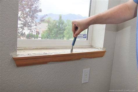 Replace Interior Window Sill