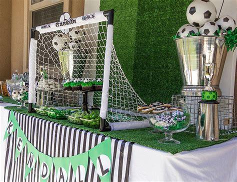 Girls' Soccer Birthday Party  Popsugar Moms