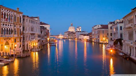 Venice At Night 4k Hd Desktop Wallpaper For 4k Ultra Hd Tv