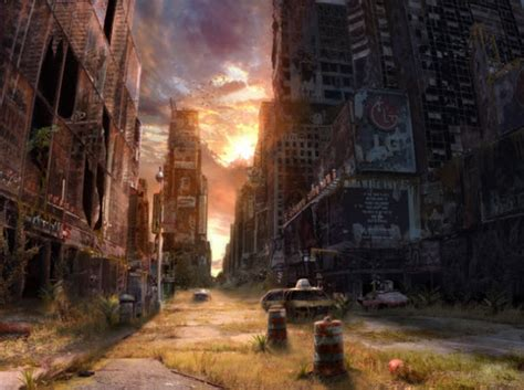 Permalink to City Destroyed Wallpaper
