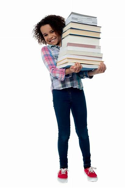 Young Student Purepng Transparent Library Woman Books