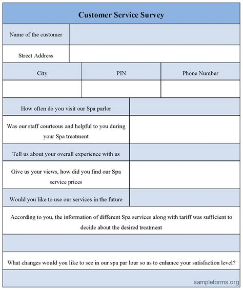 customer survey form template 29 images of customer survey form template leseriail