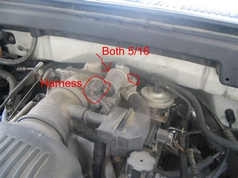 service manual   clean idle air valve  lincoln
