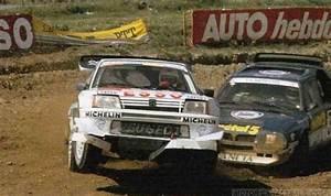 Peugeot Rodez : ra rallycross de rodez 1988 peugeot 205 turbo 16 e2 pilotado por guy fr quelin detr s un lancia ~ Gottalentnigeria.com Avis de Voitures