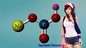 Baking Soda Or Sodium Bicarbonate  3d Molecule