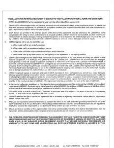 salon booth rental agreement template business