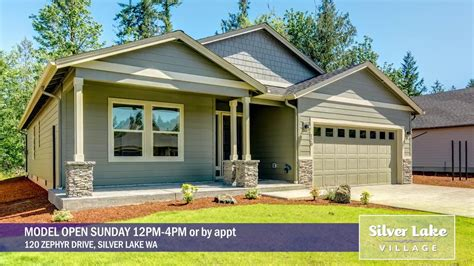 One Level Homes by Silver Lake Brand New One Level Homes In Silver