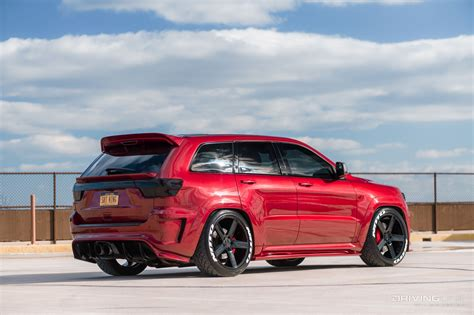 jeep grand cherokee srt supercharged monster