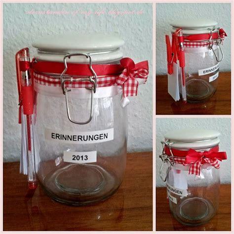 weihnachtsgeschenk freundin idee sternstunden diy glas der erinnerungen last minute weihnachtsgeschenk geschenke idee