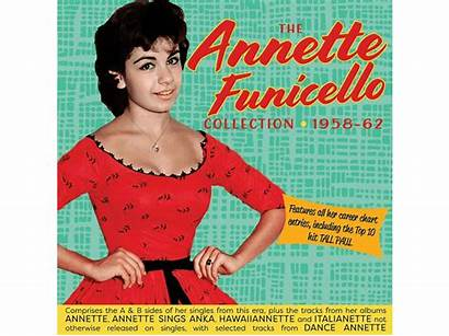 Annette Funicello Albums 1958 Singles Cd