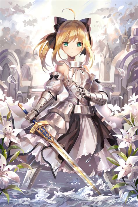 saber lily saber fatestay night page