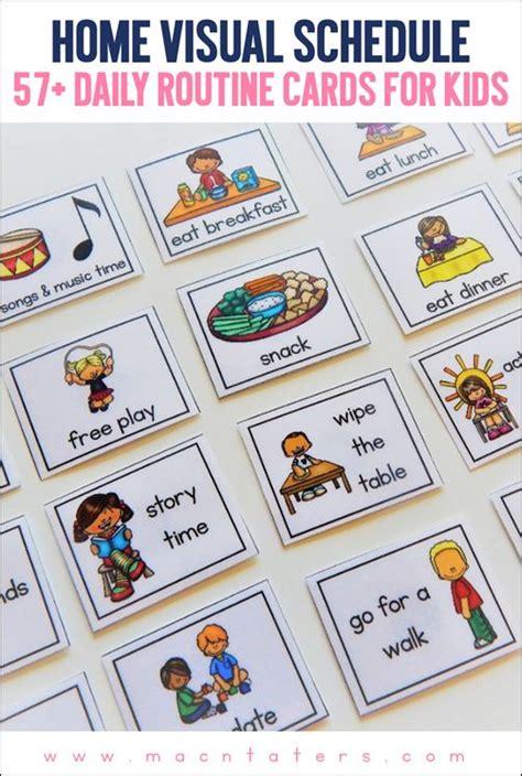 preschool schedule cards best 25 toddler routine ideas on daily 882