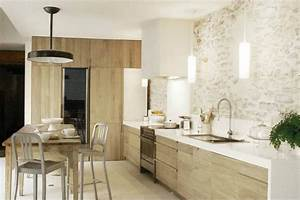 deco maison rustique moderne With idee couleur mur salon 14 cuisine rustique idee deco cuisine ancienne marie claire