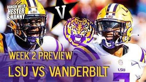 Week 2 Preview: LSU vs Vanderbilt - YouTube