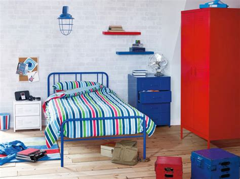 Locker Style Bedroom Furniture by Locker Industrial Style Bedroom Furniture For Boys At Next