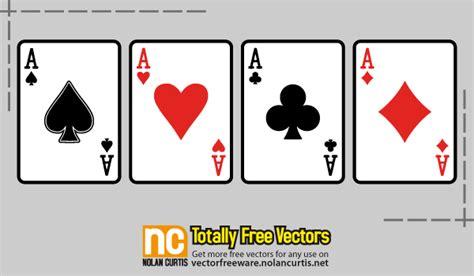 vector playing cards   vector art  vectors