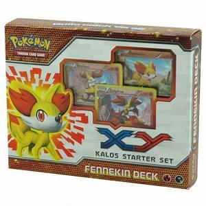 Pokemon Trading Card Game X U0026 Y Starter Sets Fennekin