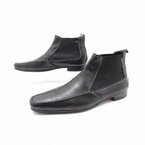 Chaussure Yves Saint Laurent Homme : chaussures yves saint laurent bottines 40 41 en cuir ~ Melissatoandfro.com Idées de Décoration