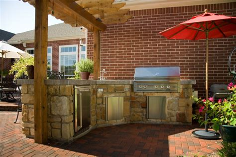 Beautiful Open Space With A Simple Aesthetic And Lasting Quality by Kitchen Brick Wall Design Beautiful Classic Outdoor