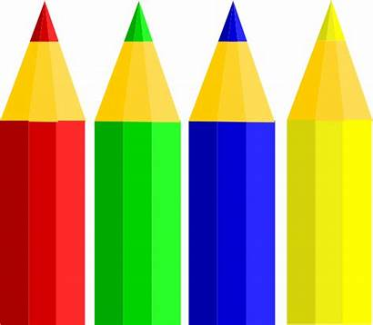 Clipart Pencil Pencils Crayon Clip Clker Transparent