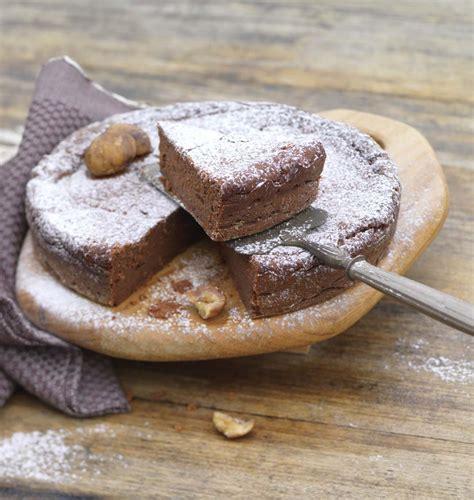 recette cuisine gateau chocolat gâteau fondant au chocolat et châtaigne les meilleures