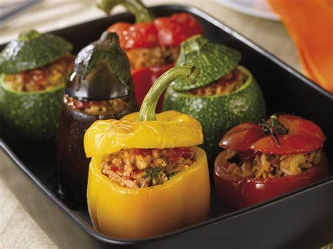 recette legumes farcis  la viande top sante