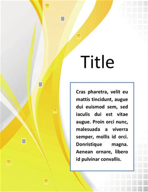 template word  sampul laporan cover page