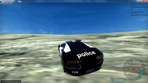 Multiplayer Stunt Racing Game By