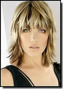 Model Coiffure Femme : coiffure femme mi long avec frange ~ Medecine-chirurgie-esthetiques.com Avis de Voitures