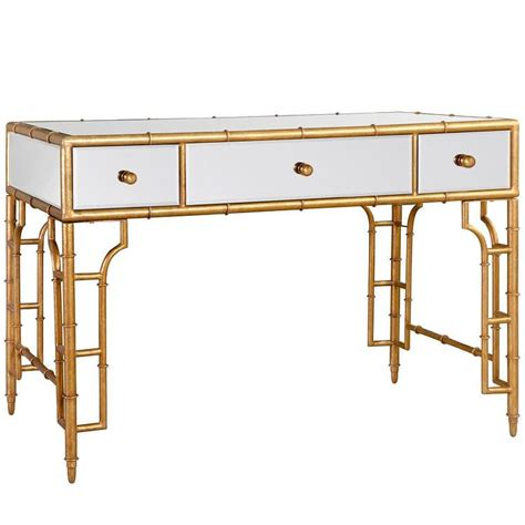gold vanity table set bungalow 5 collette vanity desk gold i layla grayce