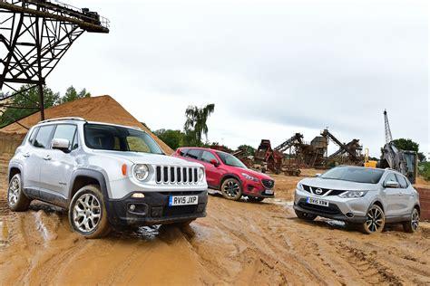 mazda jeep cx5 jeep renegade vs nissan qashqai vs mazda cx 5 auto express