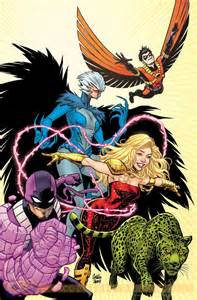 Variant Covers Teen Titans