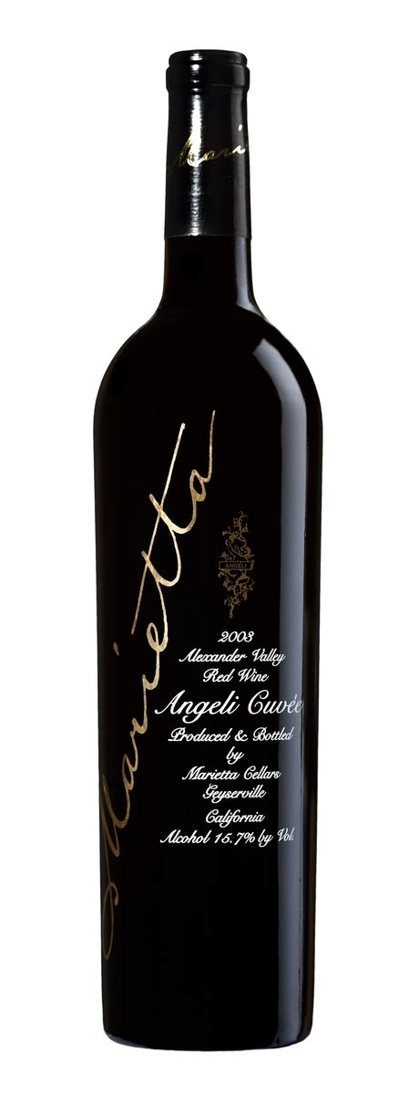 grapes and wine home 2007 marietta angeli cuvee valley by marietta