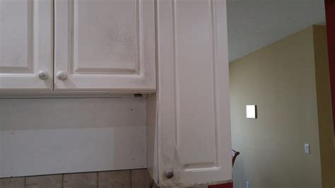 damaged kitchen cabinets fix kitchen cabinets damaged due to home 3081