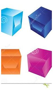 Blue 3d Boxes Royalty Free Stock Photos - Image: 8122548