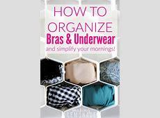 How to Organize Your Underwear Drawer {KonMari Method