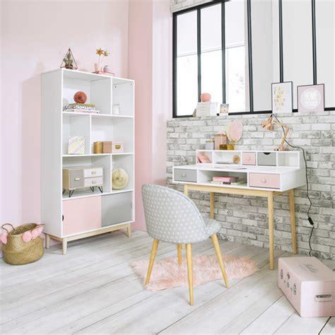 le de bureau maison du monde bureau vintage blanc blush maisons du monde