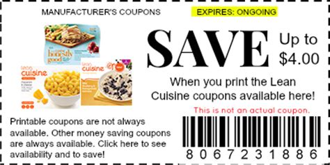 code promo cuisine store lean cuisine coupons manufacturer coupons