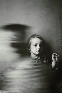 Child Ghost Black and White Photography