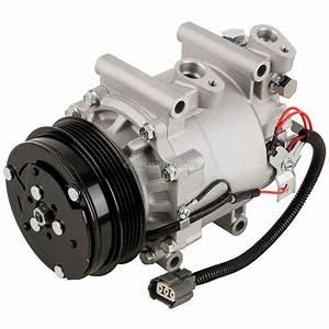 Ac Compressor  U0026 A  C Clutch For Honda Fit 2007 2008
